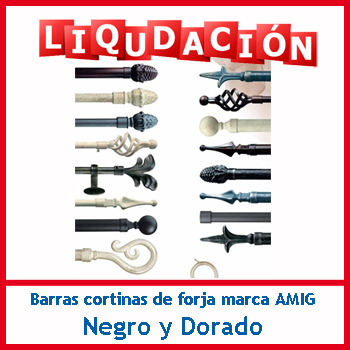 Promociones bigmat guerrero materiales de construcci n - Barras de forja para cortinas ...