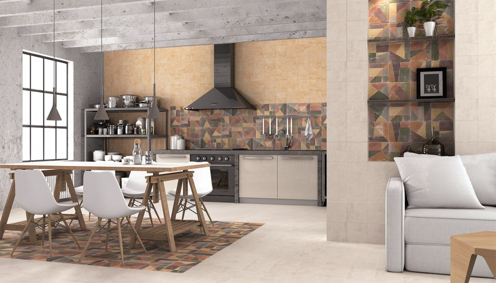 Tendencias 2018 para decorar tu cocina bigmat guerrero for Losetas decorativas pared